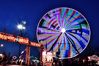 Marketing and sales representatives have fun and earn big at The Ohio State Fair.